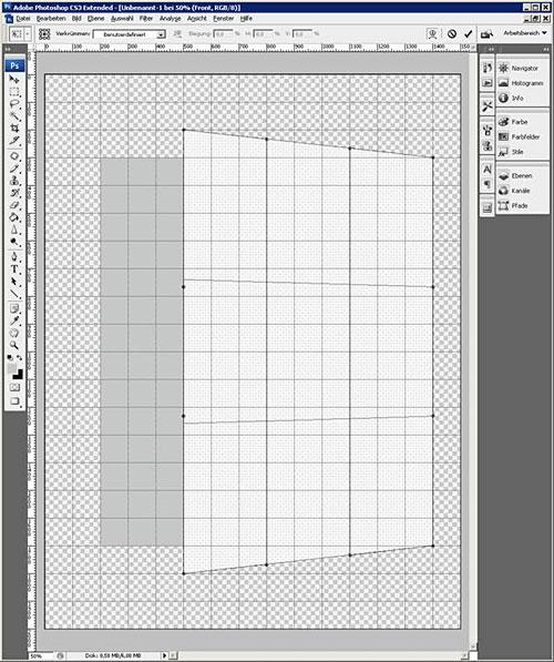 3D Box erstellen Schritt 2