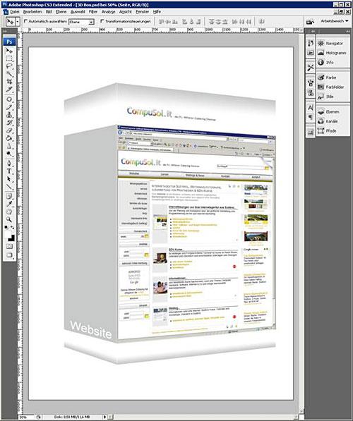 3D Box erstellen Schritt 5