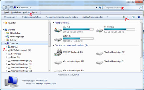 Windows Explorer Windows 7
