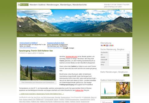 Blog diewanderer.it - Wandern in Südtirol
